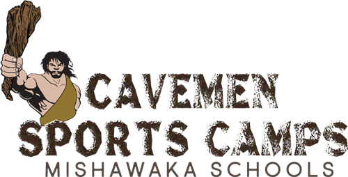 cavemen sports camps logo