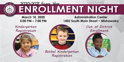 enrollment night march 10, 2020