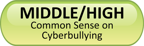 cyberbullying button for middle/high school