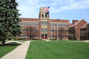 Mishawaka High School Tower