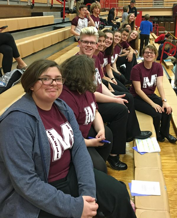 MHS Spell bowl team