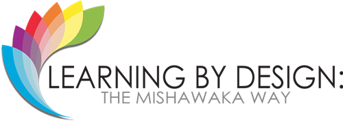 learning by design: the mishawaka way logo