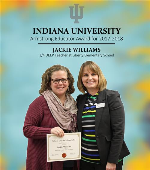 Jackie Williams Award Photo