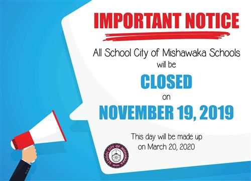 schools closed on november 19, 2019