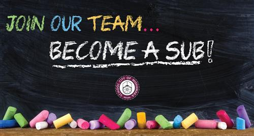 join our team...become a sub!